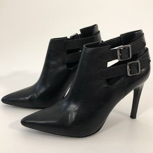 Mango Pointed Toe Booties